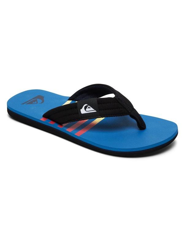 0 Molokai Layback Sandals Blue AQBL100359 Quiksilver
