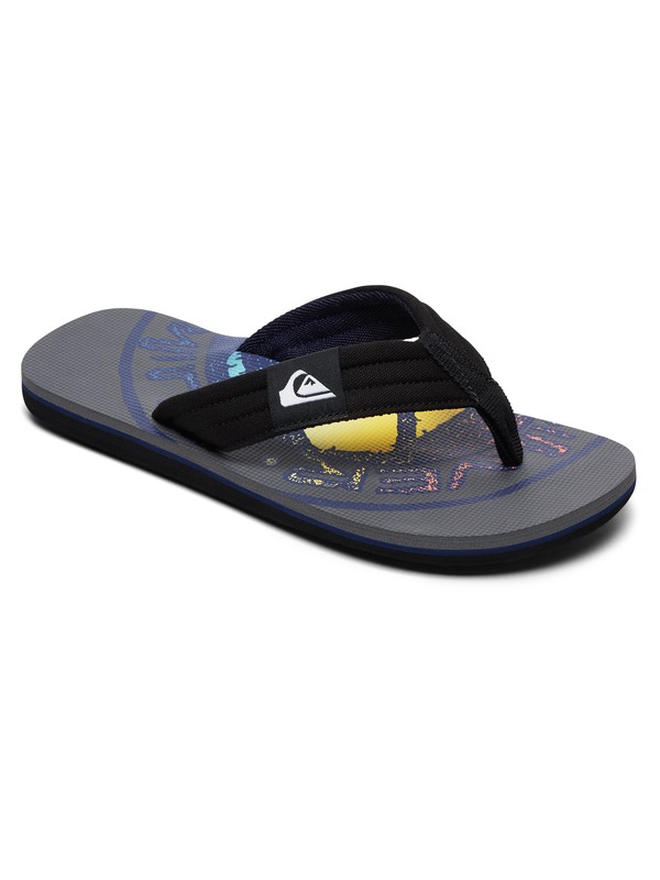 0 Molokai Layback - Sandals for Boys Grey AQBL100359 Quiksilver