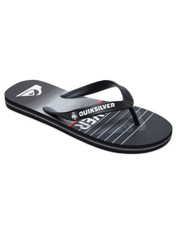 0 Molokai Highline Slab - Flip-Flops for Boys Black AQBL100363 Quiksilver