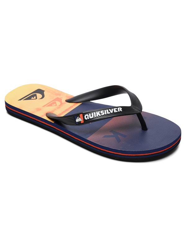 0 Molokai Wordblock - Flip-Flops for Boys Multicolor AQBL100380 Quiksilver