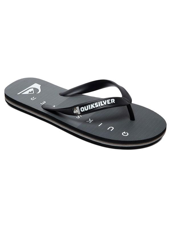 0 Boys Molokai Massive Flip-Flops Black AQBL100432 Quiksilver