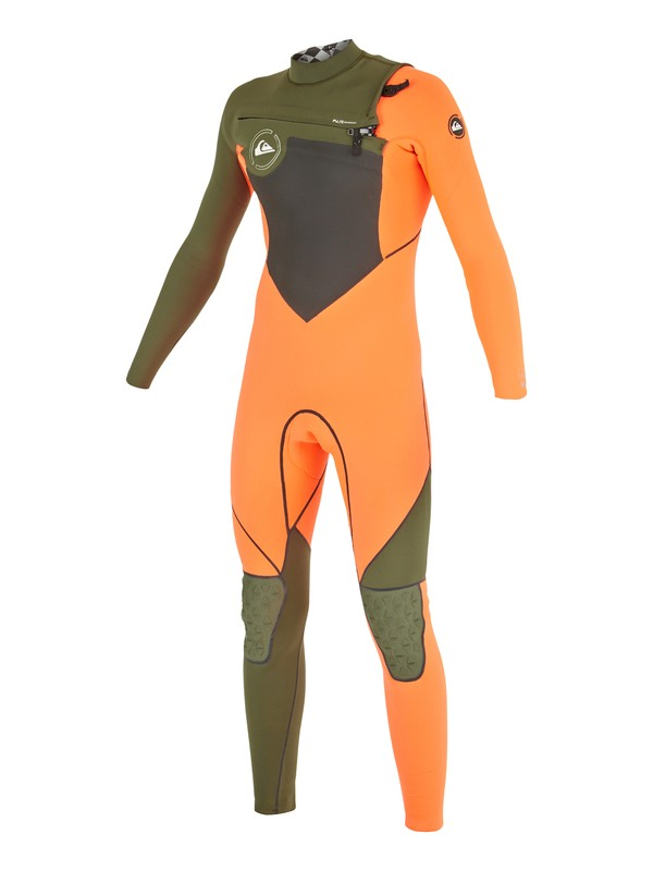 0 AG47 Performance 3/2mm - Chest Zip Wetsuit Pink AQBW103014 Quiksilver