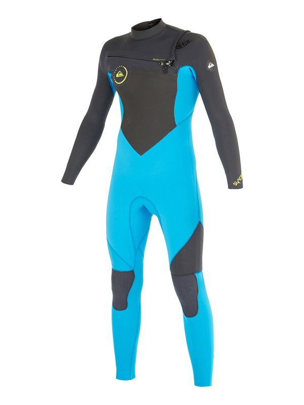 0 Boys 8-16 Syncro GBS 4/3mm Chest Zip Wetsuit  AQBW103023 Quiksilver