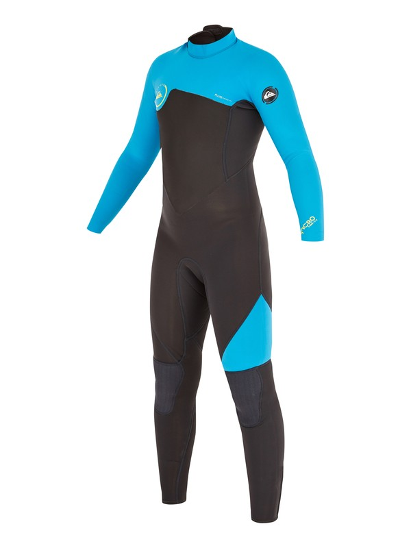 0 Boys 8-16 Syncro GBS 4/3mm Back Zip Wetsuit  AQBW103024 Quiksilver