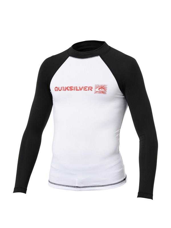 0 Boys Phaser Long Sleeve Rashguard  AQBWR00003 Quiksilver