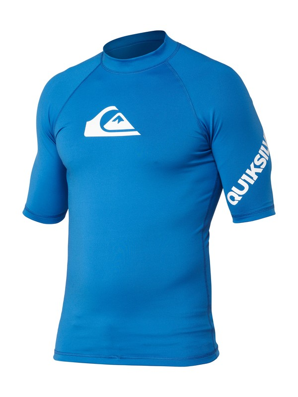 0 Boys All Time Short Sleeve Rashguard  AQBWR00040 Quiksilver