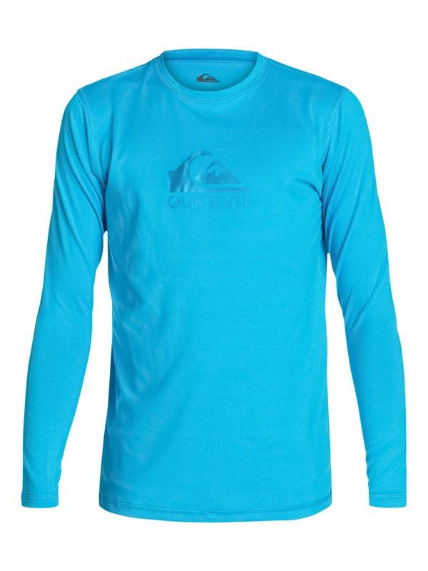 0 Solid Streak - Long Sleeve T-shirt Rash Guard  AQBWR03010 Quiksilver