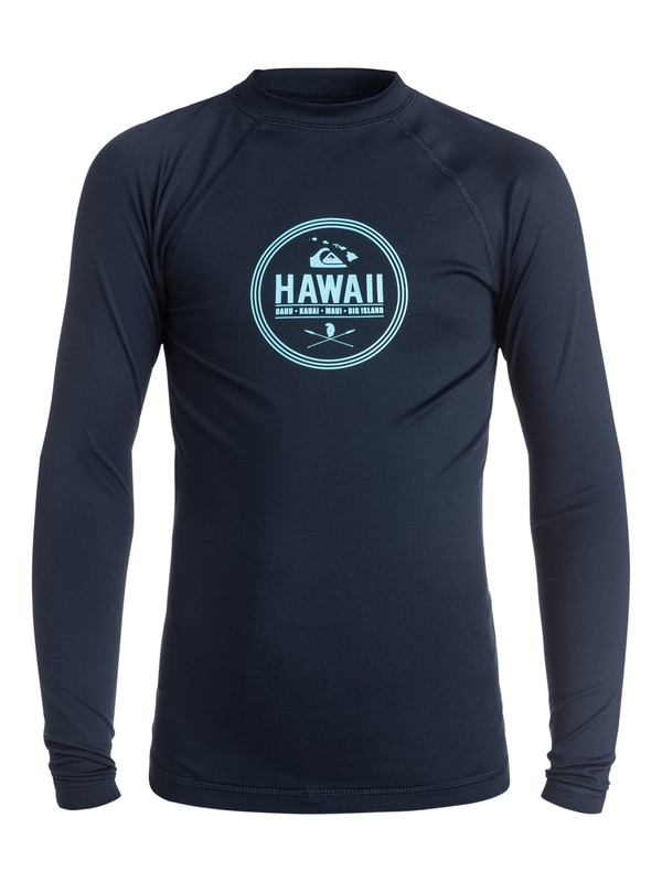 0 Island Style Long Sleeve - Lycra manches longues  AQBWR03017 Quiksilver
