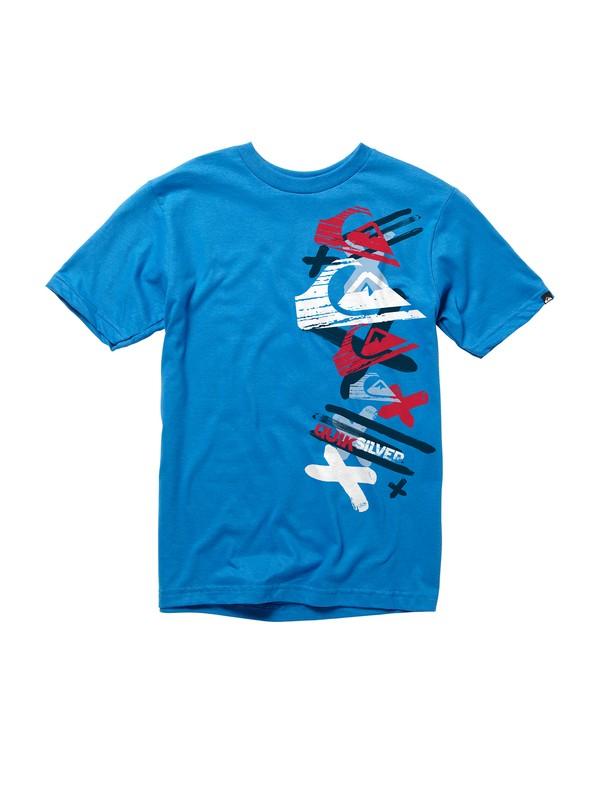0 boys 8-16 Adventure T-shirt  AQBZT00307 Quiksilver