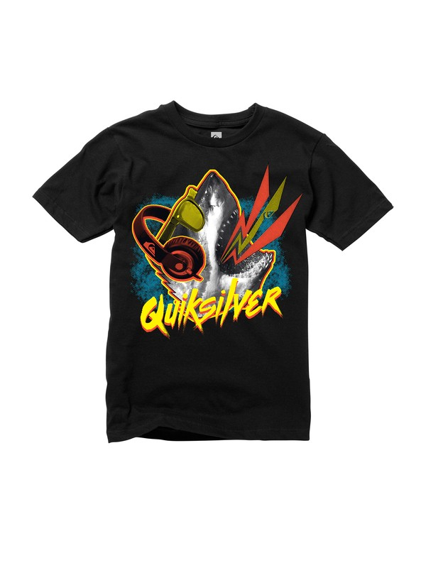 0 Boys 8-16 Party Shark T-Shirt  AQBZT00451 Quiksilver