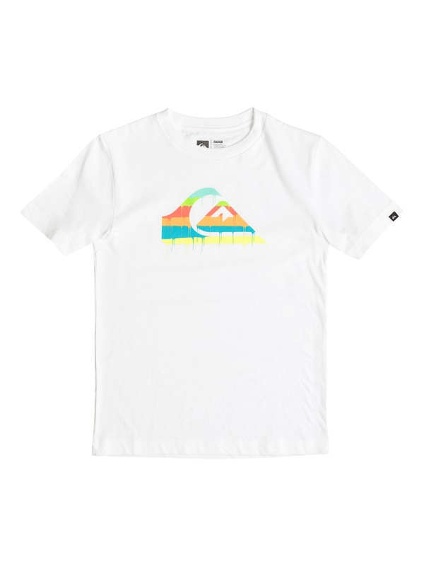0 Boys 8-16 Quik Drip T-Shirt  AQBZT03123 Quiksilver