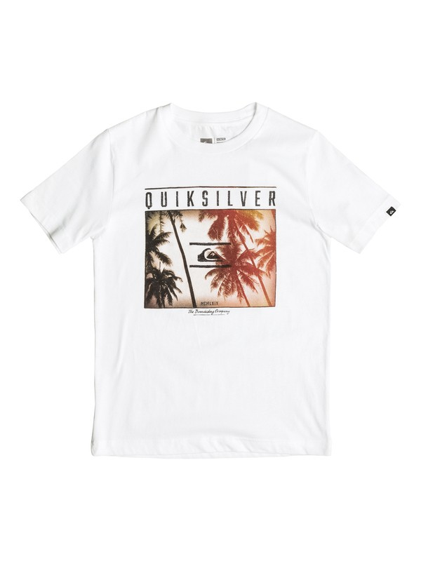 0 Perfect Location - T-Shirt  AQBZT03126 Quiksilver