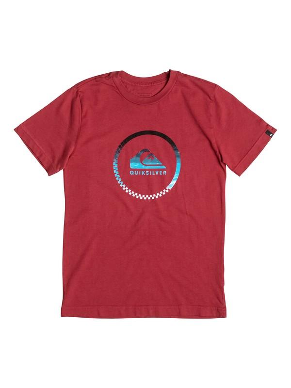 0 Niños 8-16  Camiseta Active Momentum  AQBZT03185 Quiksilver