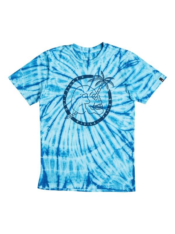 0 Palm Skull - T-Shirt  AQBZT03204 Quiksilver