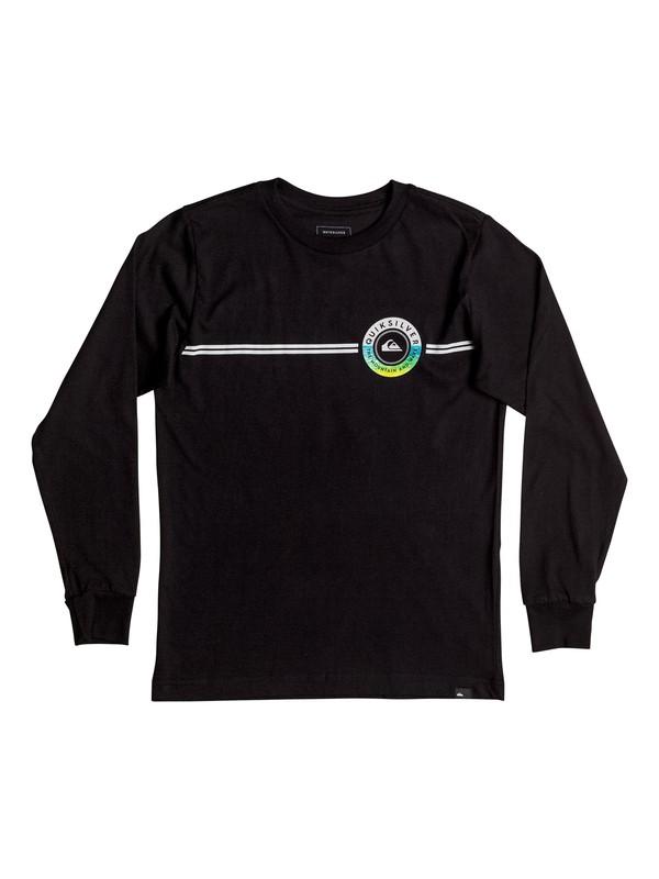 0 Golden Lines - Long Sleeve T-shirt  AQBZT03206 Quiksilver