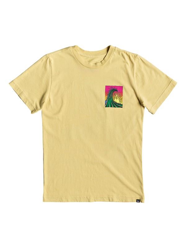 0 Boy's 8-16 Quik Solar Tee Yellow AQBZT03519 Quiksilver