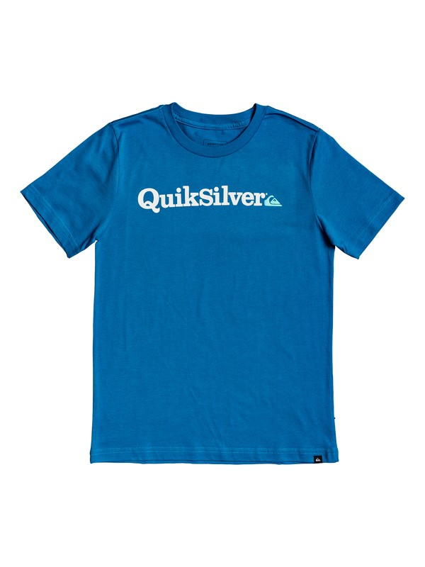 0 Boy's 8-16 Fraction Of Mind Tee Blue AQBZT03565 Quiksilver
