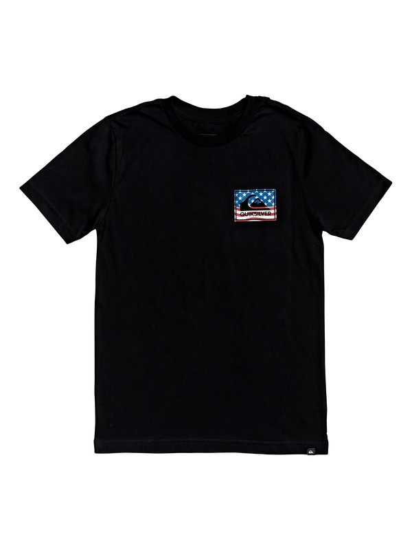 0 Camiseta - Architexture Negro AQBZT03567 Quiksilver