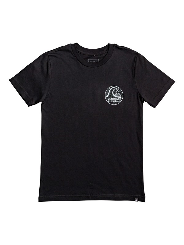 0 Boy's 8-16 Without Parallel Tee Black AQBZT03569 Quiksilver