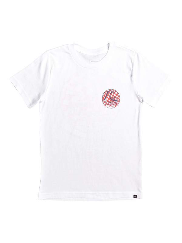 0 Boy's 8-16 Without Parallel Tee White AQBZT03569 Quiksilver
