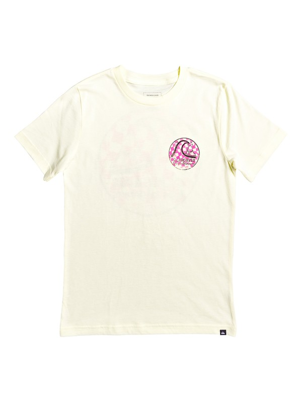0 Boy's 8-16 Without Parallel Tee Yellow AQBZT03569 Quiksilver