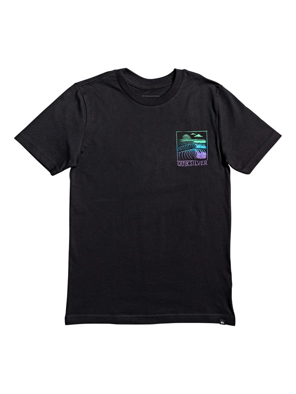 0 Boy's 8-16 Raw Angel Tee Black AQBZT03570 Quiksilver