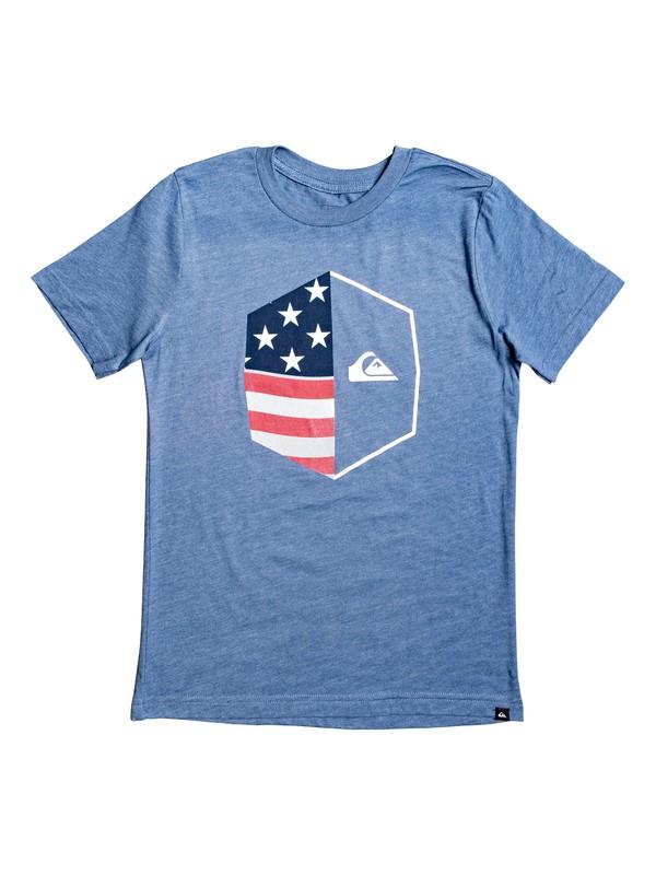 0 Camiseta - Americana Azul AQBZT03581 Quiksilver