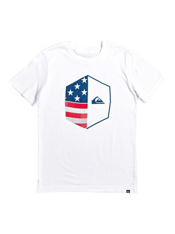 0 Camiseta - Americana Blanco AQBZT03581 Quiksilver