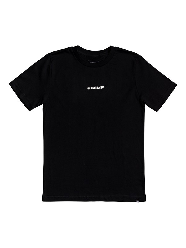 0 Boy's 8-16 Checker Out Tee Black AQBZT03602 Quiksilver