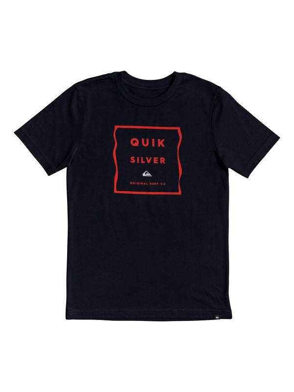 0 Box Blur - T-Shirt for Boys 8-16 Negro AQBZT03605 Quiksilver