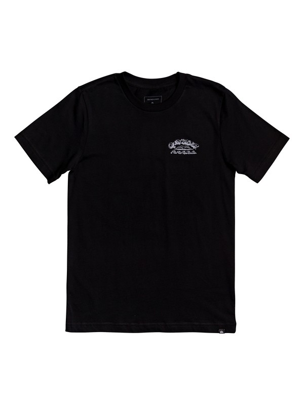 0 Wave Count - T-Shirt for Boys 8-16 Negro AQBZT03610 Quiksilver