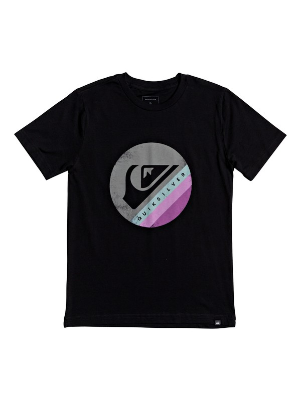 0 Boy's 8-16 Quik And Dirty Tee Black AQBZT03686 Quiksilver