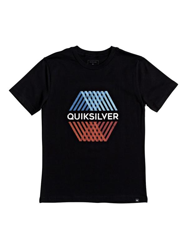 0 Boy's 8-16 Multi Hex Tee Black AQBZT03687 Quiksilver