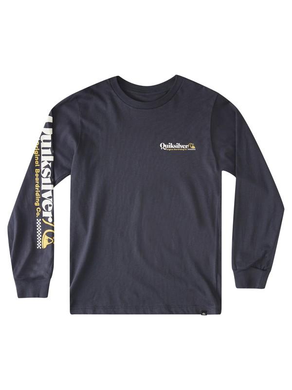 Check Yo Self - Long Sleeve T-Shirt for Boys 8-16  AQBZT03853