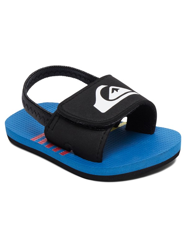 0 Baby Molokai Layback SlipOn Sandals Blue AQIL100007 Quiksilver