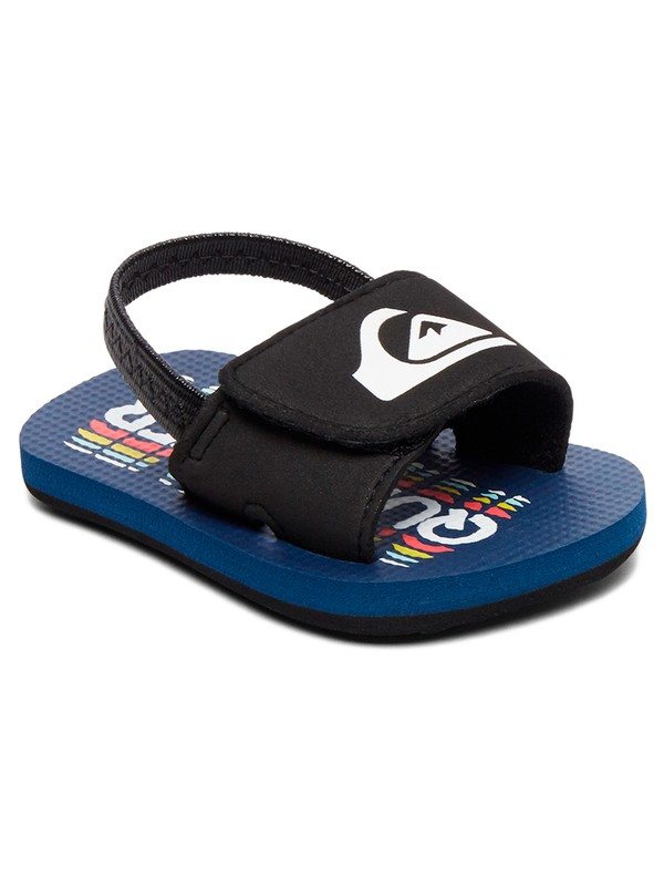 0 Baby Molokai Layback SlipOn Sandals Black AQIL100007 Quiksilver