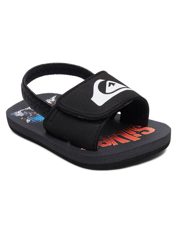 0 Baby Molokai Layback SlipOn Sandals Black AQIL100007 Quiksilver