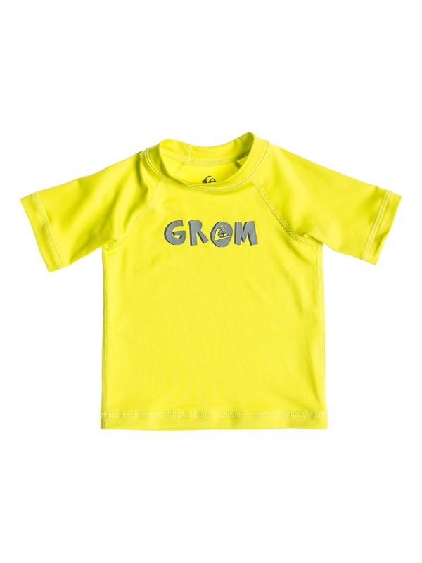 0 Grom - Rash vest a maniche corte  AQIWR03004 Quiksilver