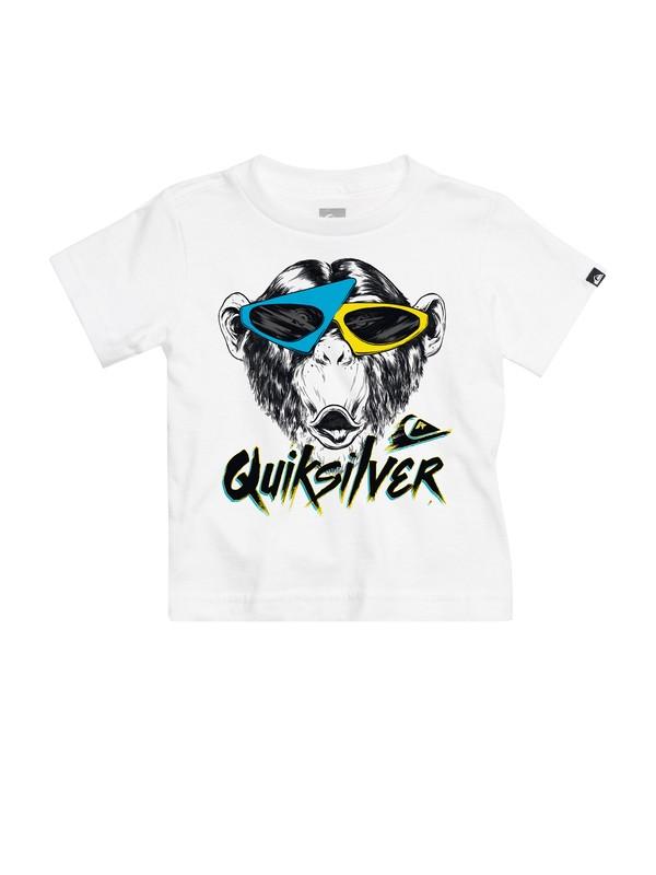 0 Baby Monkey Biz T-shirt  AQIZT00081 Quiksilver