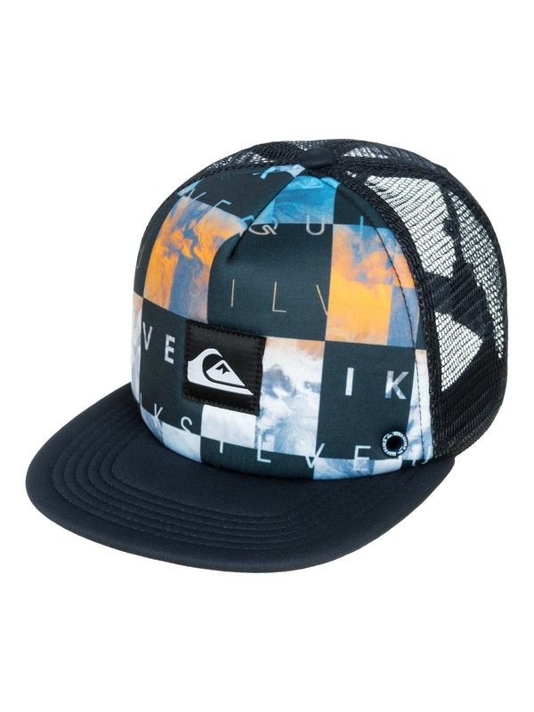 0 Boys 2-7 Boardies Trucker Hat  AQKHA03057 Quiksilver