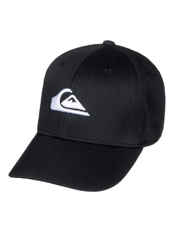 0 Boy's 8-16 Decades Snapback Hat Black AQKHA03151 Quiksilver