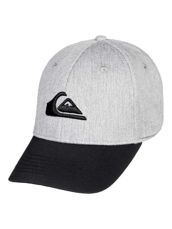 0 Boy's 2-7 Decades Snapback Hat Grey AQKHA03151 Quiksilver