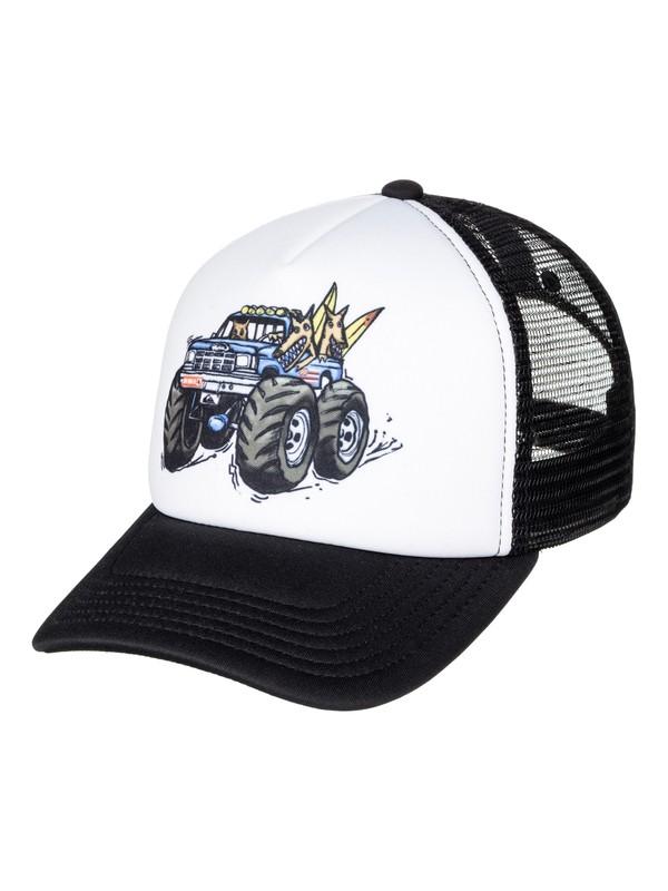 0 Boy's 2-7 Rippster Trucker Hat  AQKHA03174 Quiksilver