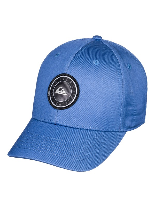 0 Boy's 2-7 Decades Plus Snapback Hat Blue AQKHA03241 Quiksilver