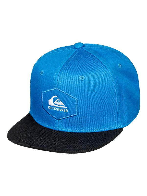 0 Gorra de Broche de Presión Atrás - Swivells Azul AQKHA03251 Quiksilver
