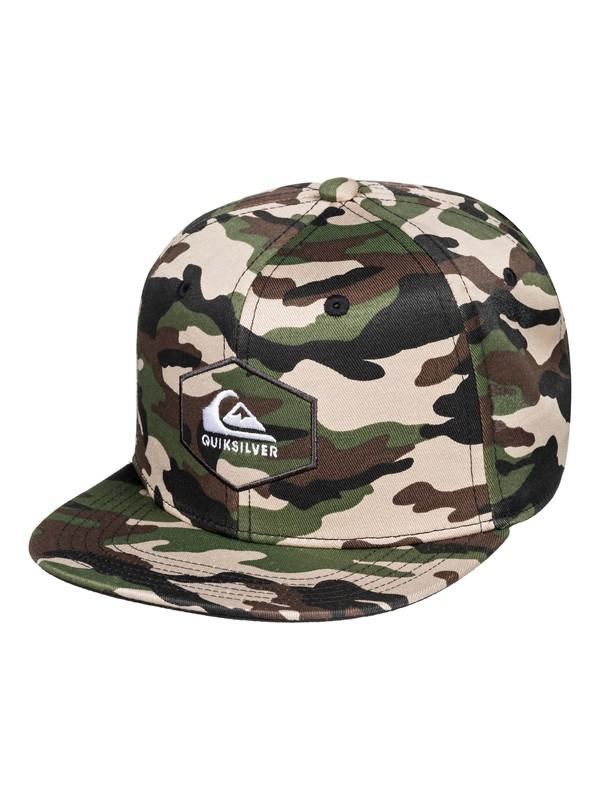 0 Boy's 2-7 Swivells Snapback Cap Green AQKHA03251 Quiksilver