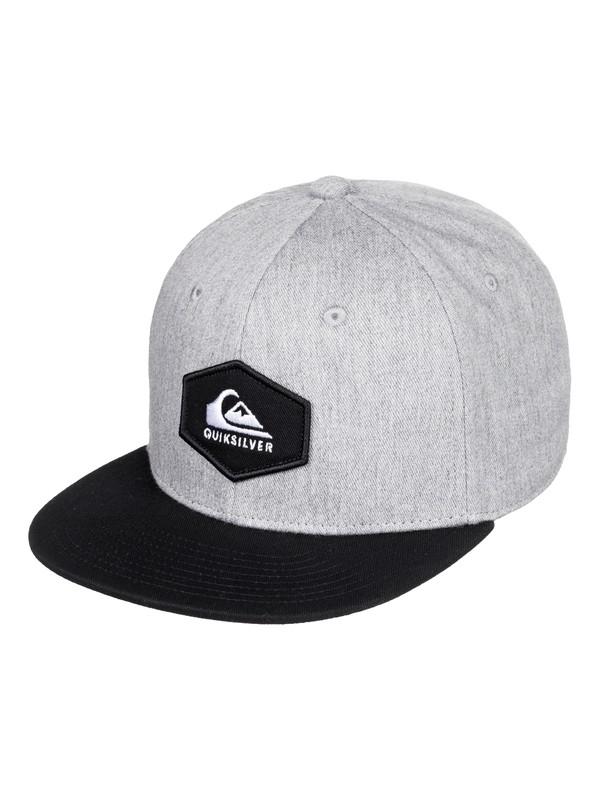 0 Boy's 2-7 Swivells Snapback Cap Grey AQKHA03251 Quiksilver