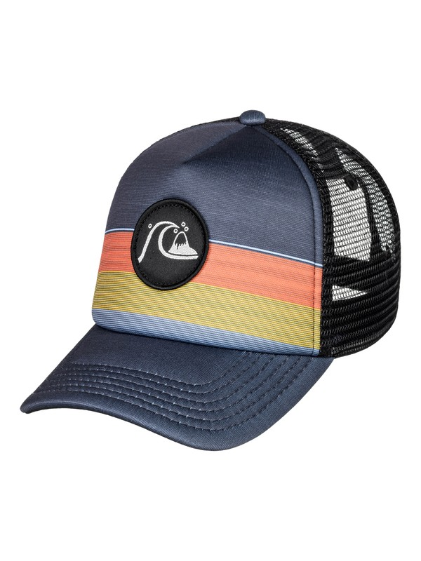 0 Boy's 2-7 Seasonal Ripe Trucker Cap Black AQKHA03254 Quiksilver