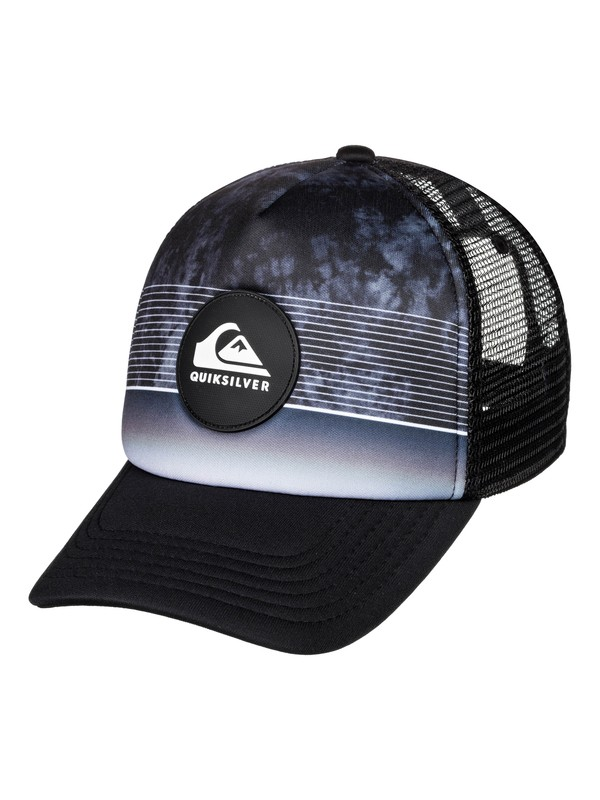 0 Stripe Pipe - Trucker Cap for Boys 2-7 Negro AQKHA03261 Quiksilver