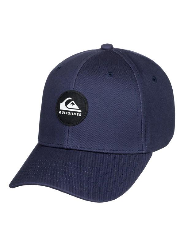0 Boy's 2-7 Super Unleaded Baseball Hat Blue AQKHA03273 Quiksilver